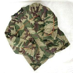 Athletech Boys 8 Camo zip up  winter jacket fleece